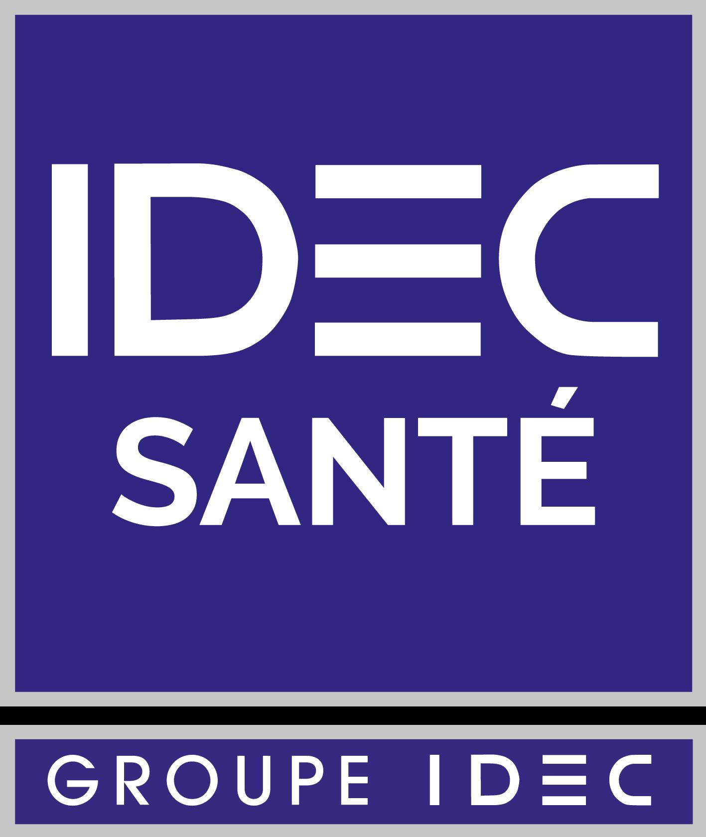 Logo IDEC SANTE avec cartouche