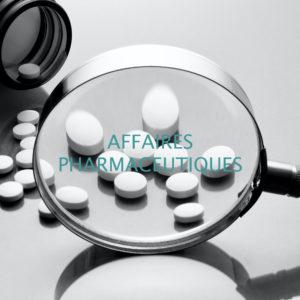 Formations Affaires Pharmaceutiques